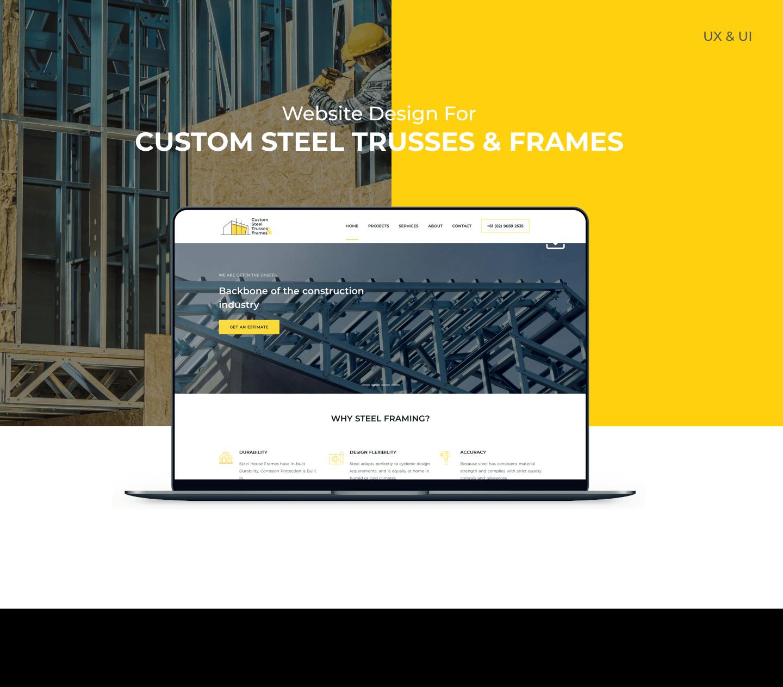 Custom Steel Trusses & Frames