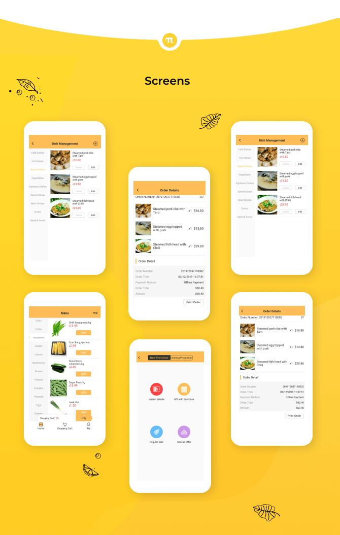 OZPi Food Ordering System