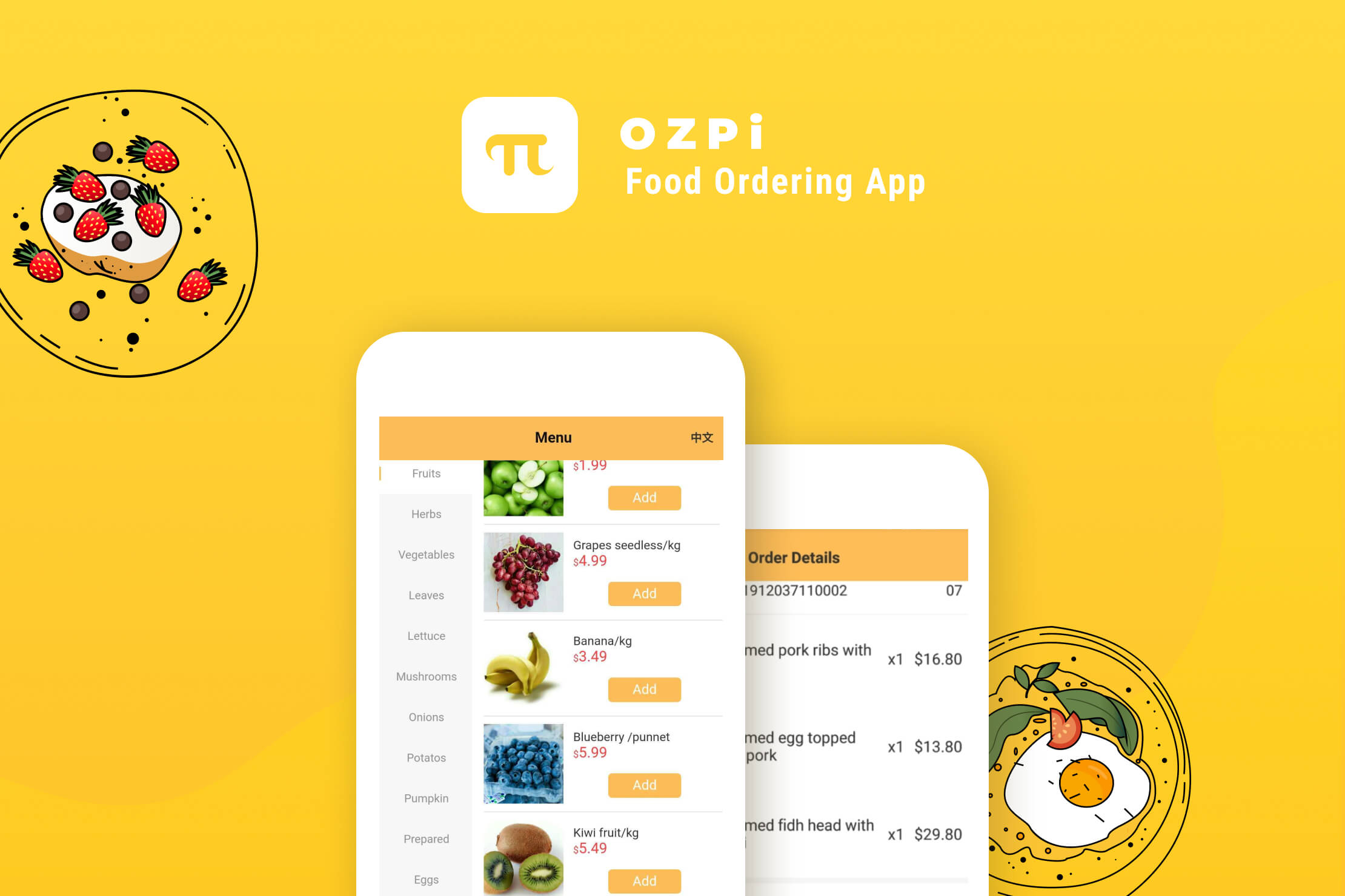 Food Ordering System Ozpi N
