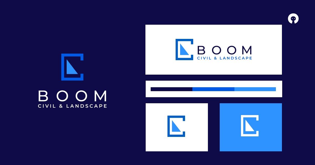 Logo Design for Boom Civil & Landscape